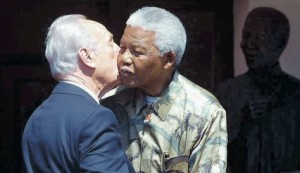 A strong bond of friendship existed between the Late President Shimon Peres and President Nelson Mandela - Mandela understood that there was no basis to the libel of Israel Apartheid