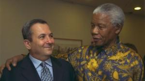 Military comrades Barak and Mandela