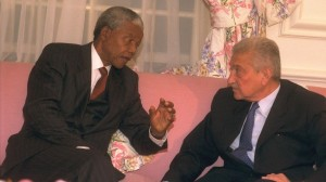 Mandela and Weitzman Israel Apartheid Week