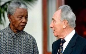 Mandela-Peres Israel Apartheid Week