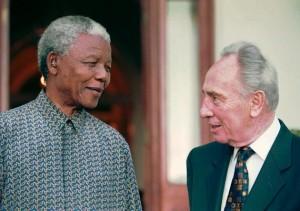 Two great statesmen meet