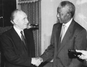 Presidents meet