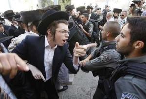 Haredi-Yelling