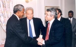 WITH EZER WEIZMAN, LIEL Mandela - Liel photos